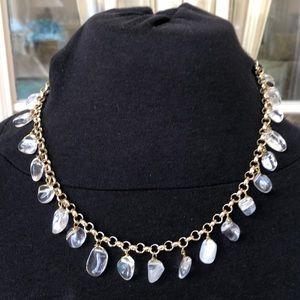 Jewelry - Beautiful white quartz necklace